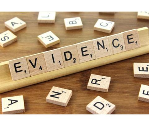 Supporting a claim with Evidence